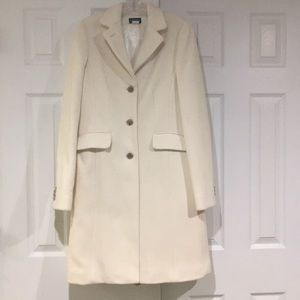 JCrew Wool Coat with Thinsulate